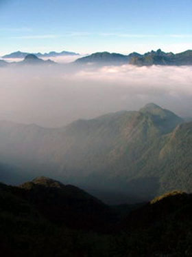 View from Mt Fansipan